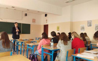 Poetyckie warsztaty UAM w klasie 2a