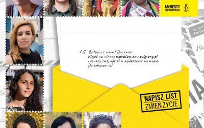 Maraton Pisania Listów Amnesty International 2018