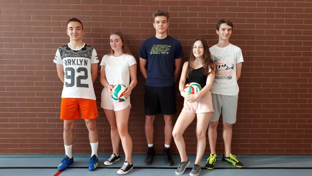 Turniej Piłki Siatkowej III klas gimnazjalnych