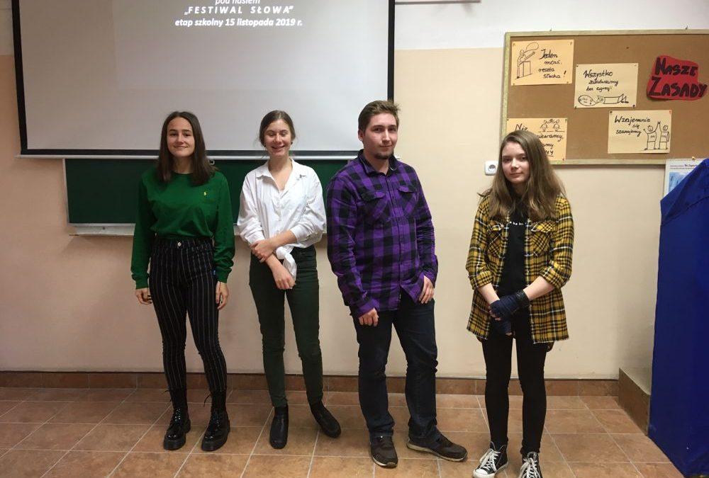 Szkolny etap Konkursu Recytatorskiego im. K.I. Gałczyńskiego