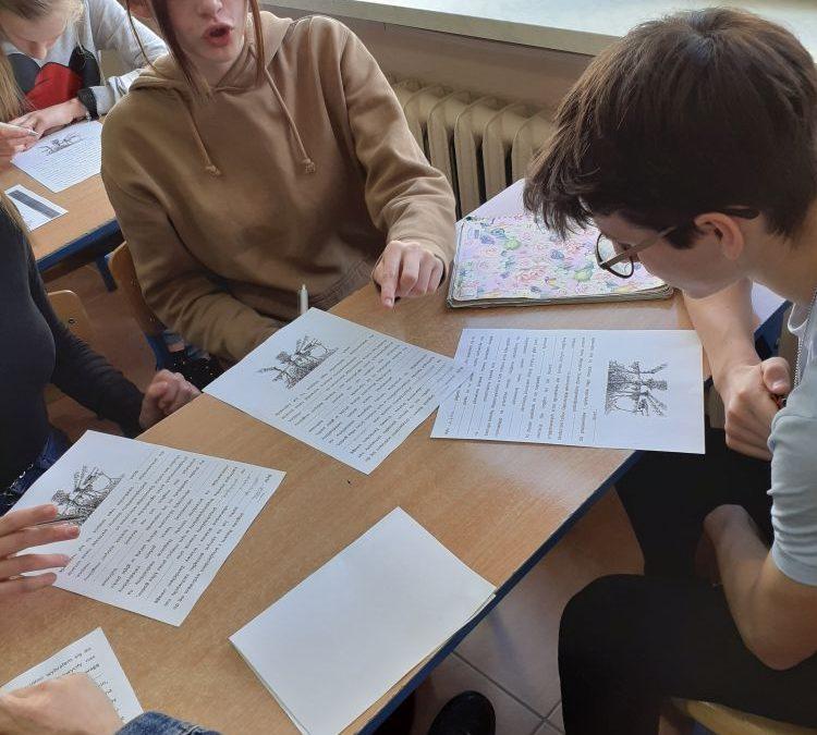 Warsztaty z historii pisma – już po raz trzeci w naszej szkole