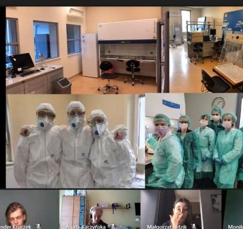 Spotkanie ze studentkami Uniwersytetu Medycznego w Poznaniu