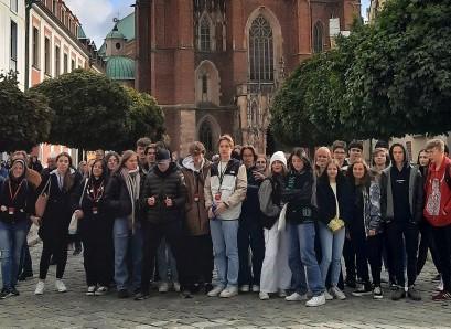 Wycieczka klas 2C i 3Cp do Wrocławia